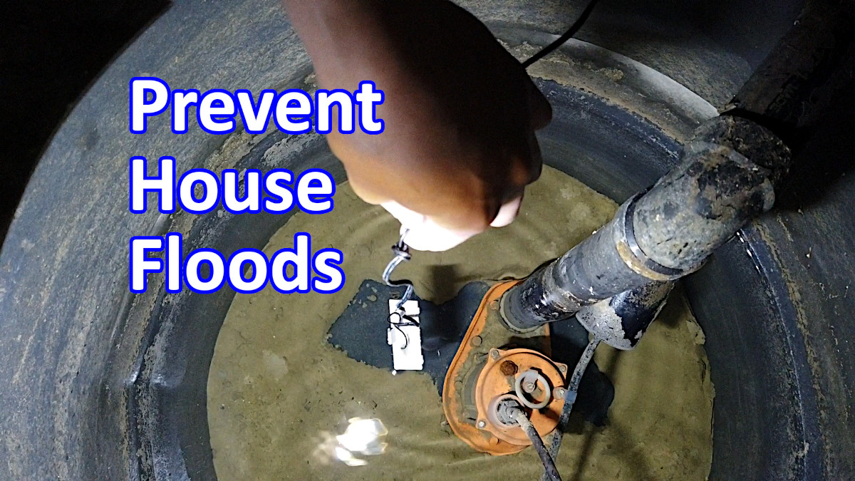 Blog_DIY_Prevent home flooding DIY – How to install Early flood warning system for your Home Sump pump