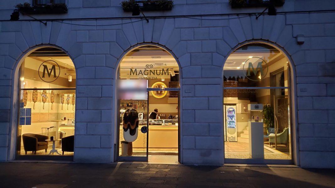 Europe_Magnum ice cream store front