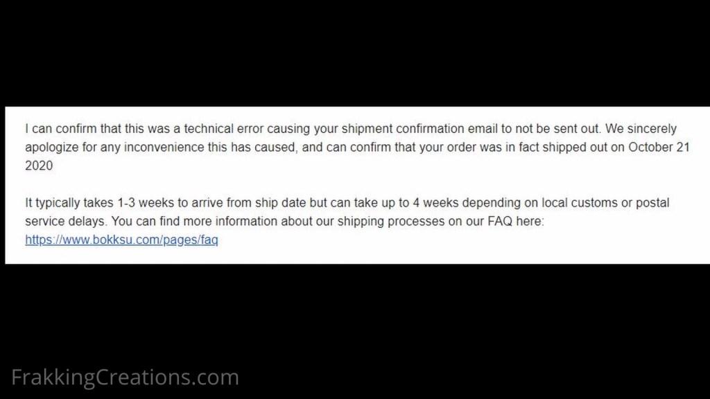 Bokksu 3_Response from Bokksu on shipment