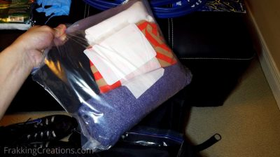 Extra clothes for car emergency kit