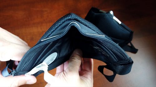 UA SportsMask with mod to stop air leak (Top profile)