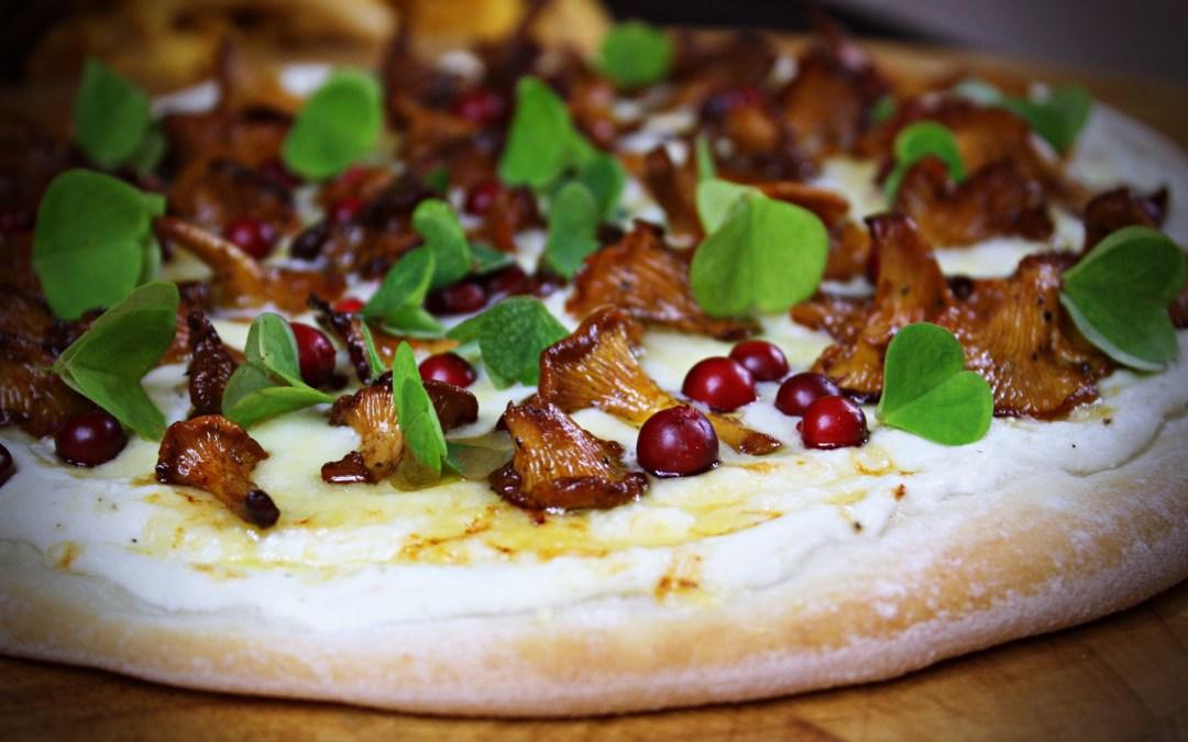 En supergod höstig pizza Bianco