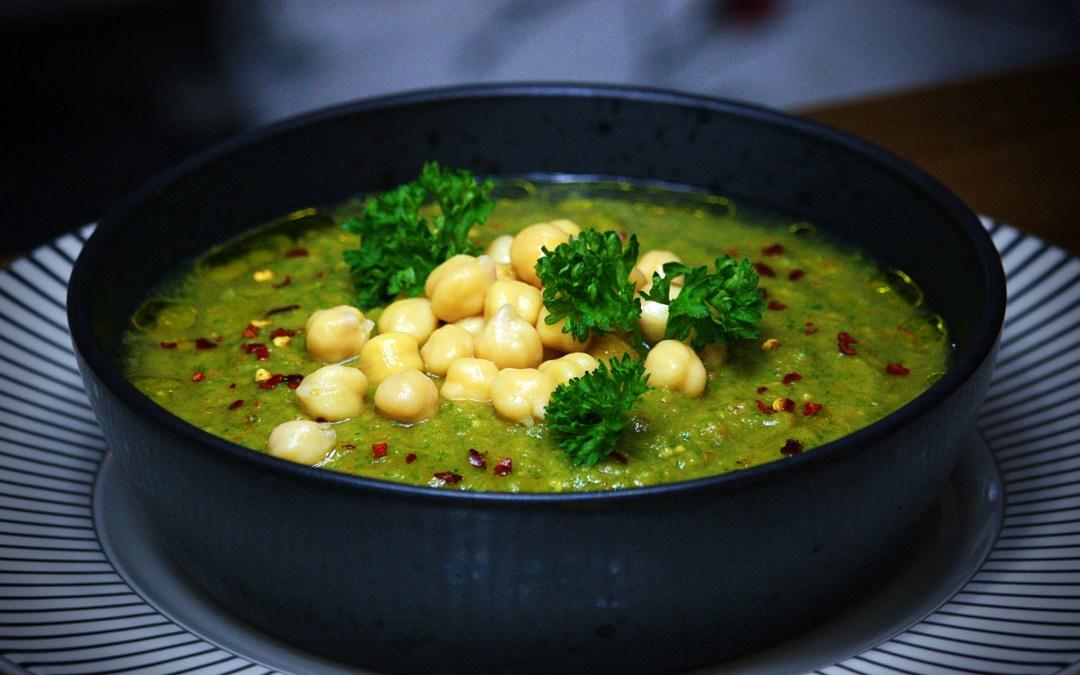 Råmixad kall Grönsakssoppa. Vitaminboozt delux.