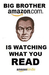 Amazon is watching what you read