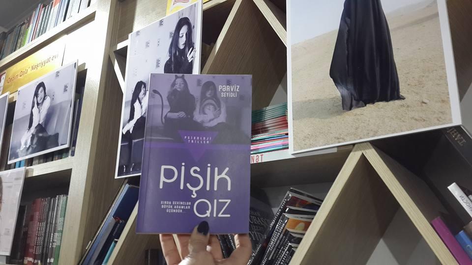 """""""Pişik qız"""" romanı təqdim olundu-FOTO-lar"""