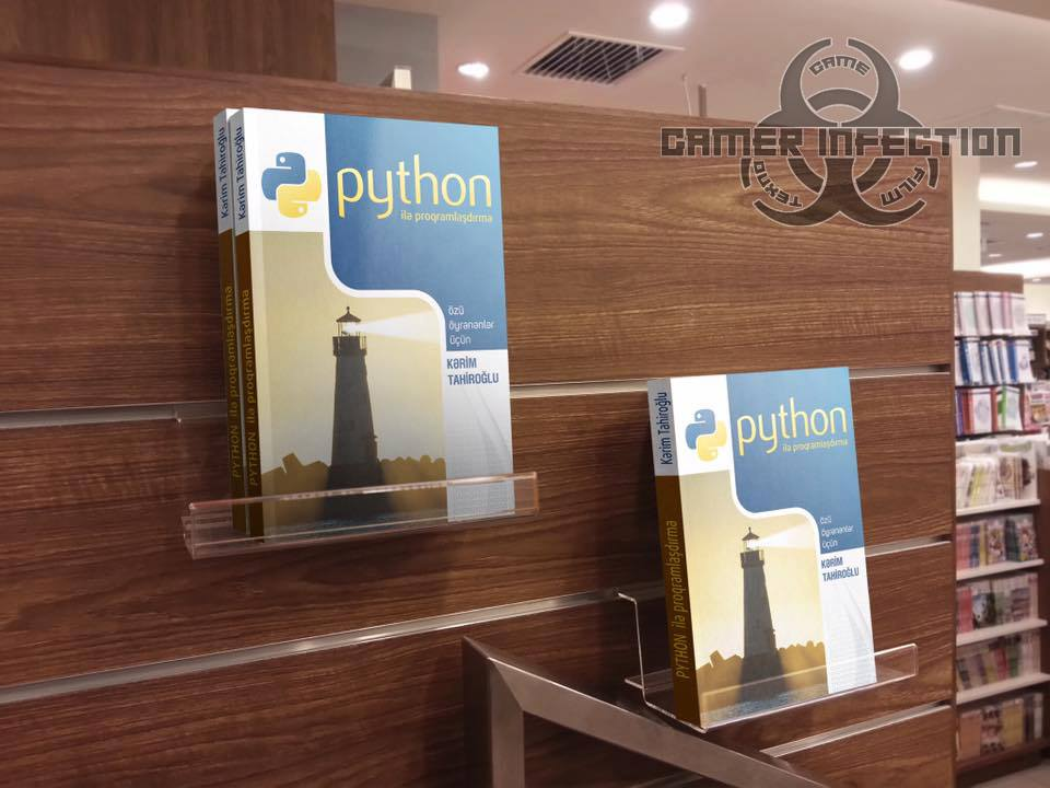 Python ilə Proqramlaşdırma kitabı nəşr olundu
