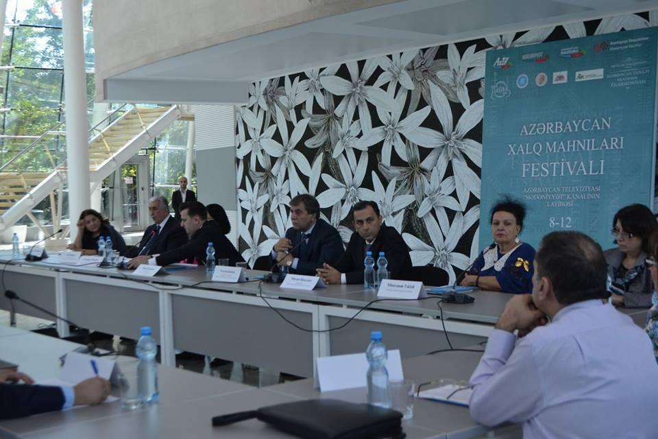 В Международном Центре Мугама прошла научная конференция в рамках проекта «Азербайджанские народные песни».