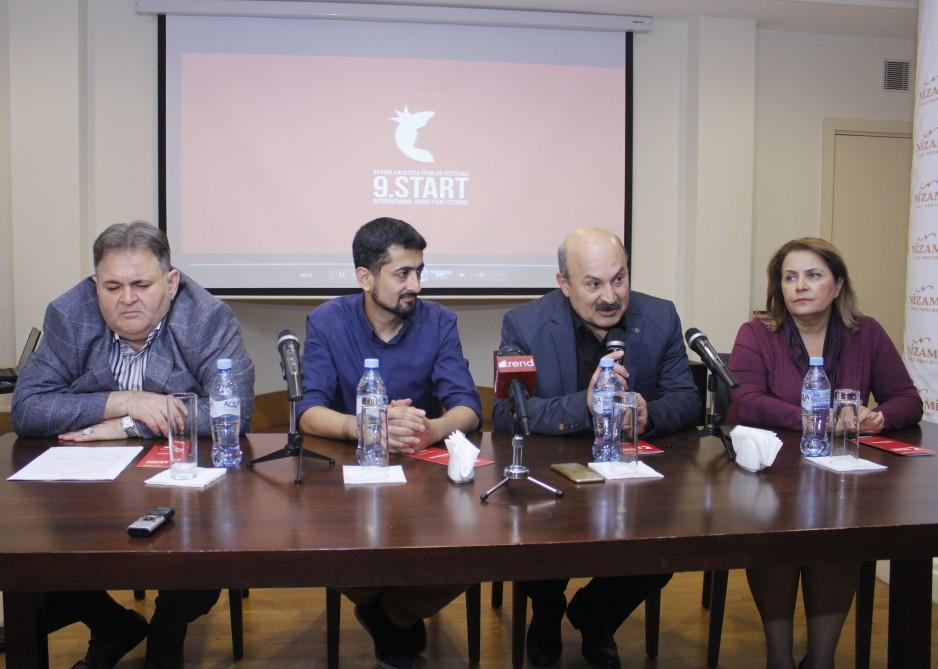 """IX """"START"""" Beynəlxalq Qısa Filmlər Festivalının açılışı ilə bağlı mətbuat konfransı keçirilib"""