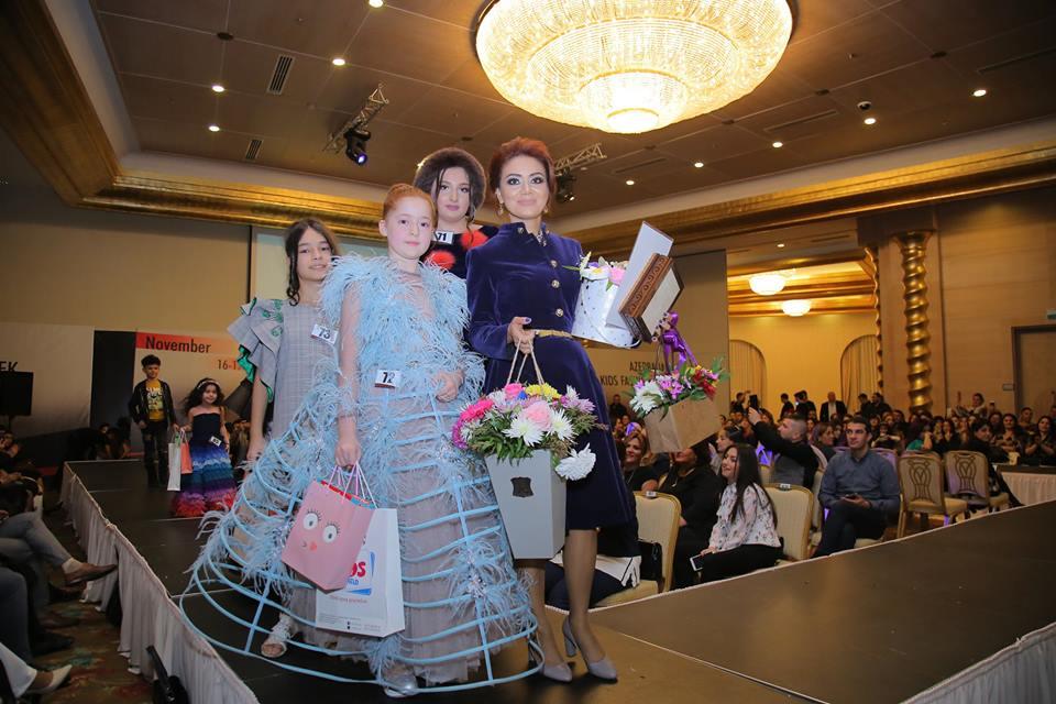 """""""Azerbaijan Kids Fashion Week 2018""""uşaq moda nümayişi keçirilib"""