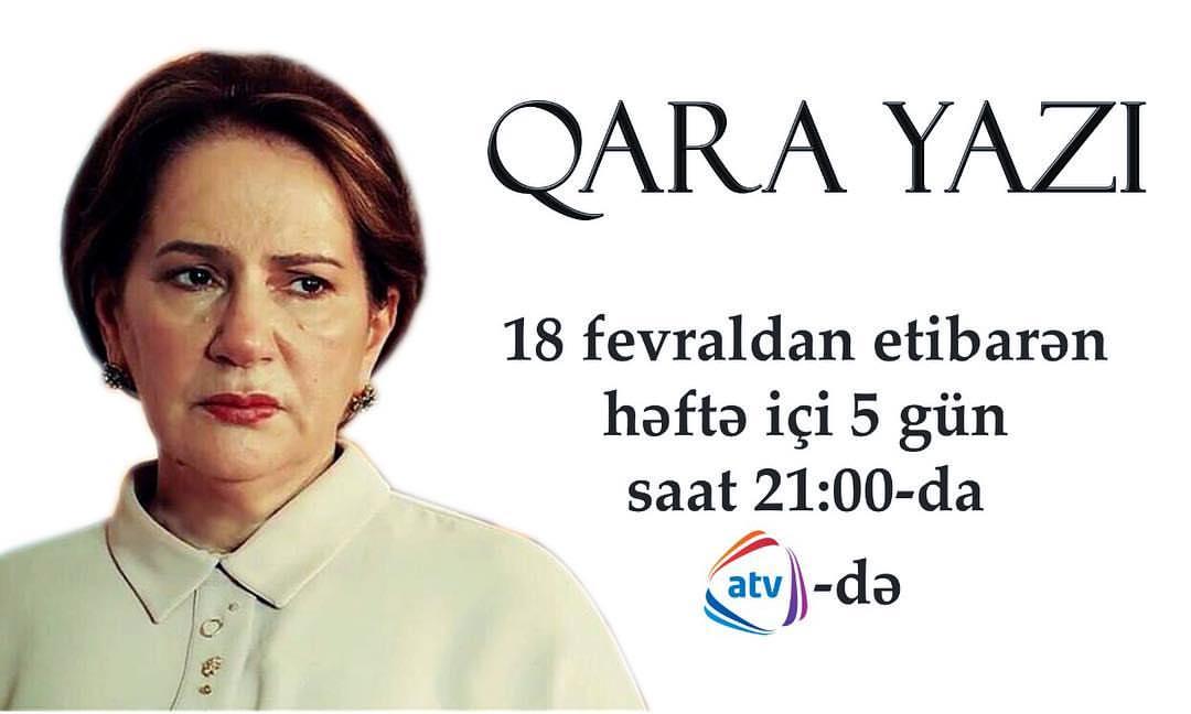 """""""Qara yazı"""" adlı yeni serial başlayır"""