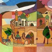 В резиденции посла Евросоюза выставлены работы азербайджанского художника