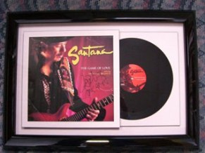Shadowbox framed album for 94.3FM and auctioned at charity event.