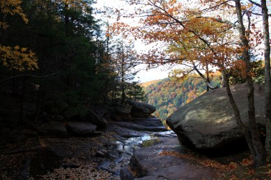 The top of Kaaterskill Falls