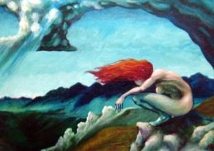 Ida Kendall fine art at the Frame & I Prescott AZ