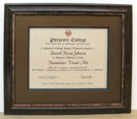 frame your diploma