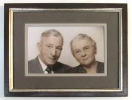 Antique Cute Couple