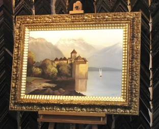 Austria Painting Gold Frame