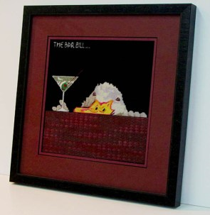Bar Bill Needlepoint
