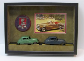 Framed Car Collection- Sunbeam Talbot