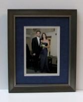 Couple Photo- Silk Blue