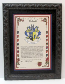 Ehrhardt Family Crest