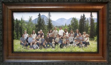 frame family photos