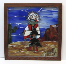 Kachina Stained Glass