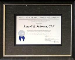 Russell Johnson, CPF