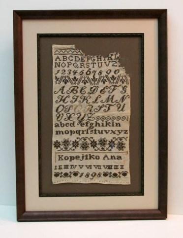 Frame your stitchery!
