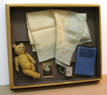 Teddy Bear Shadow Box