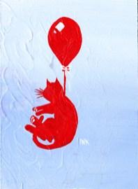 balloon animals cat ida kendall