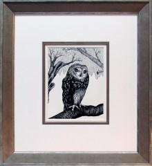Prescott Art Pen and Ink by Ida Kendall