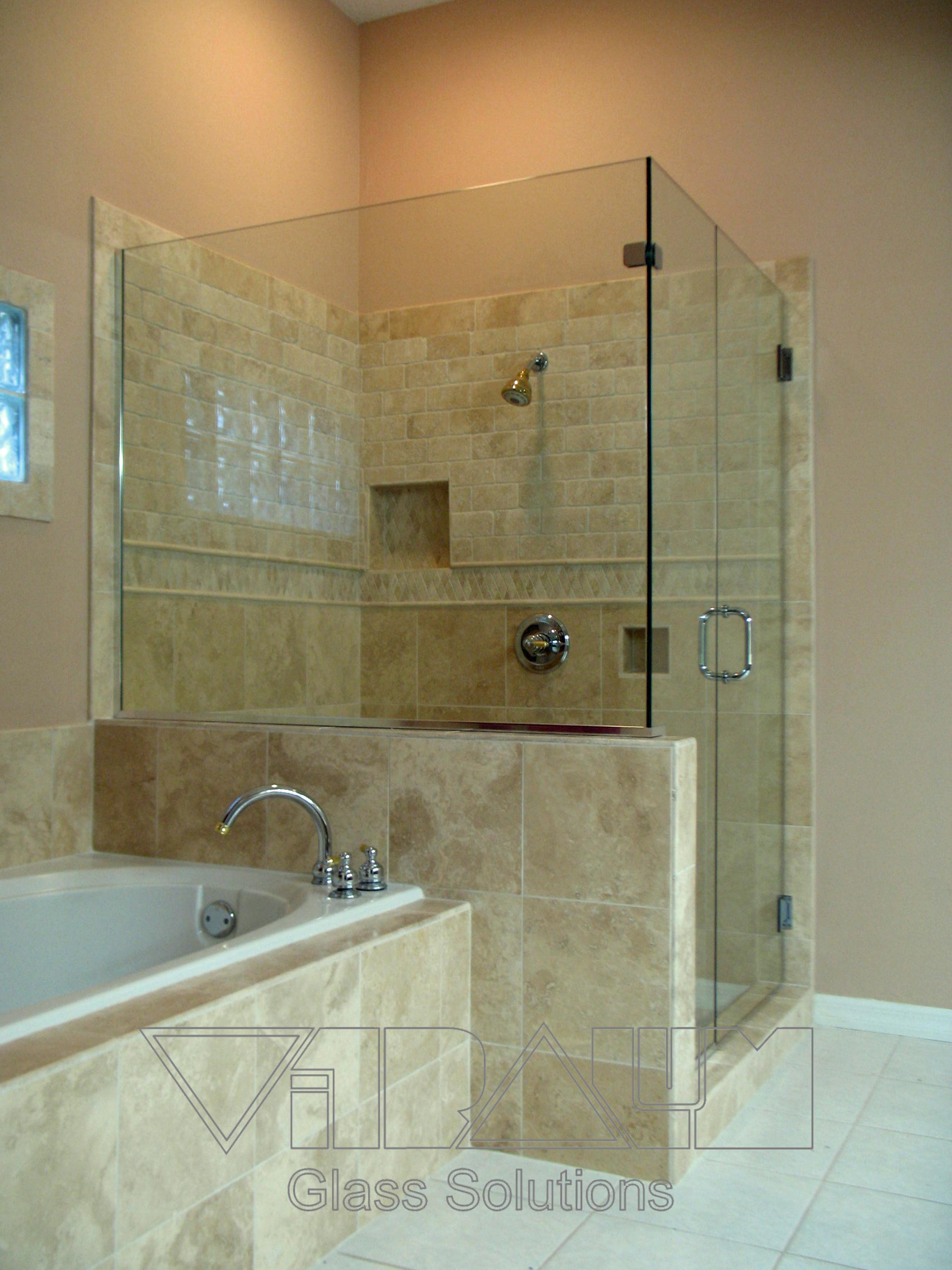 Orlando Frameless Shower Doors Bathroom Glass Enclosures
