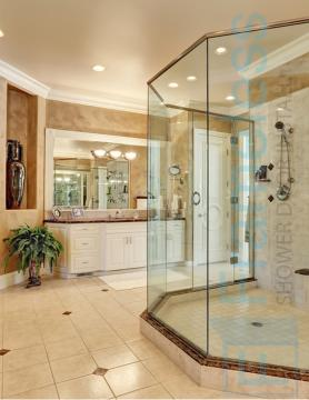 82 Custom Frameless Glass Enclosure Shower Door Installation Replacement 3