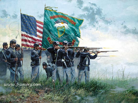 FIGHT'N IRISH by Dale Gallon Celebrating the gallantry and bravery of the Irish Brigade In stock and available Issue price - $200