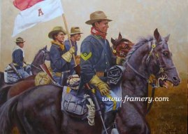 """SECOND HAT The First Sergeant Image size: 12 x 16"""" Current price - Call"""