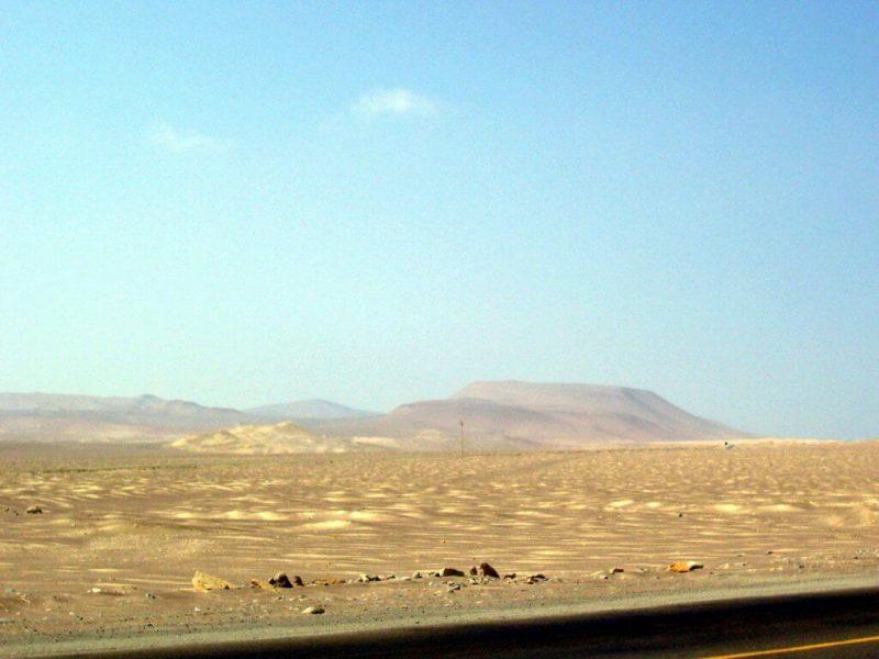 desert - National Reserve of Paracas - Peru