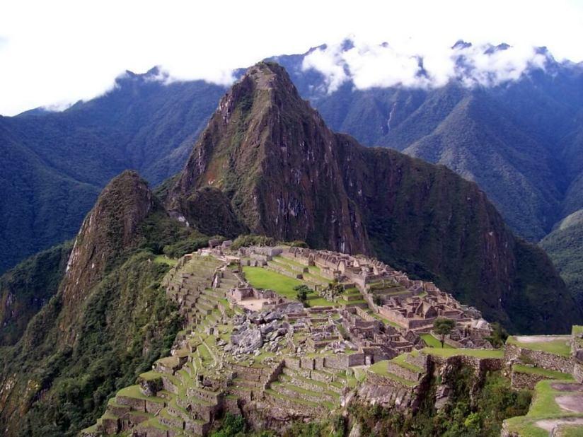 Overview of Machu Picchu, in Peru