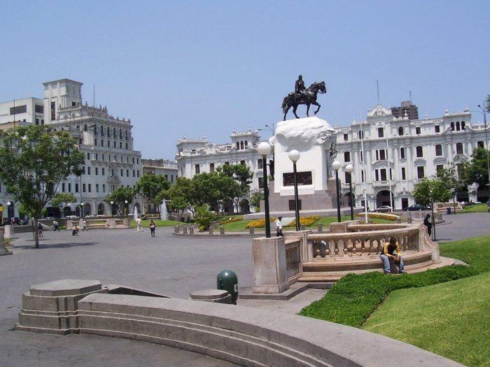 Plaza San Martin - Lima - Peru