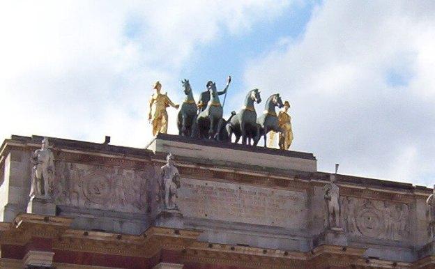 Arc de Trio du Carrousel 2- Paris - France