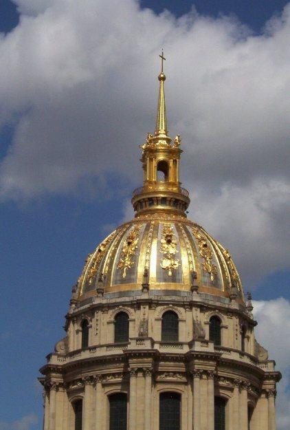 Dome of Hotel de Invalides -Paris - France