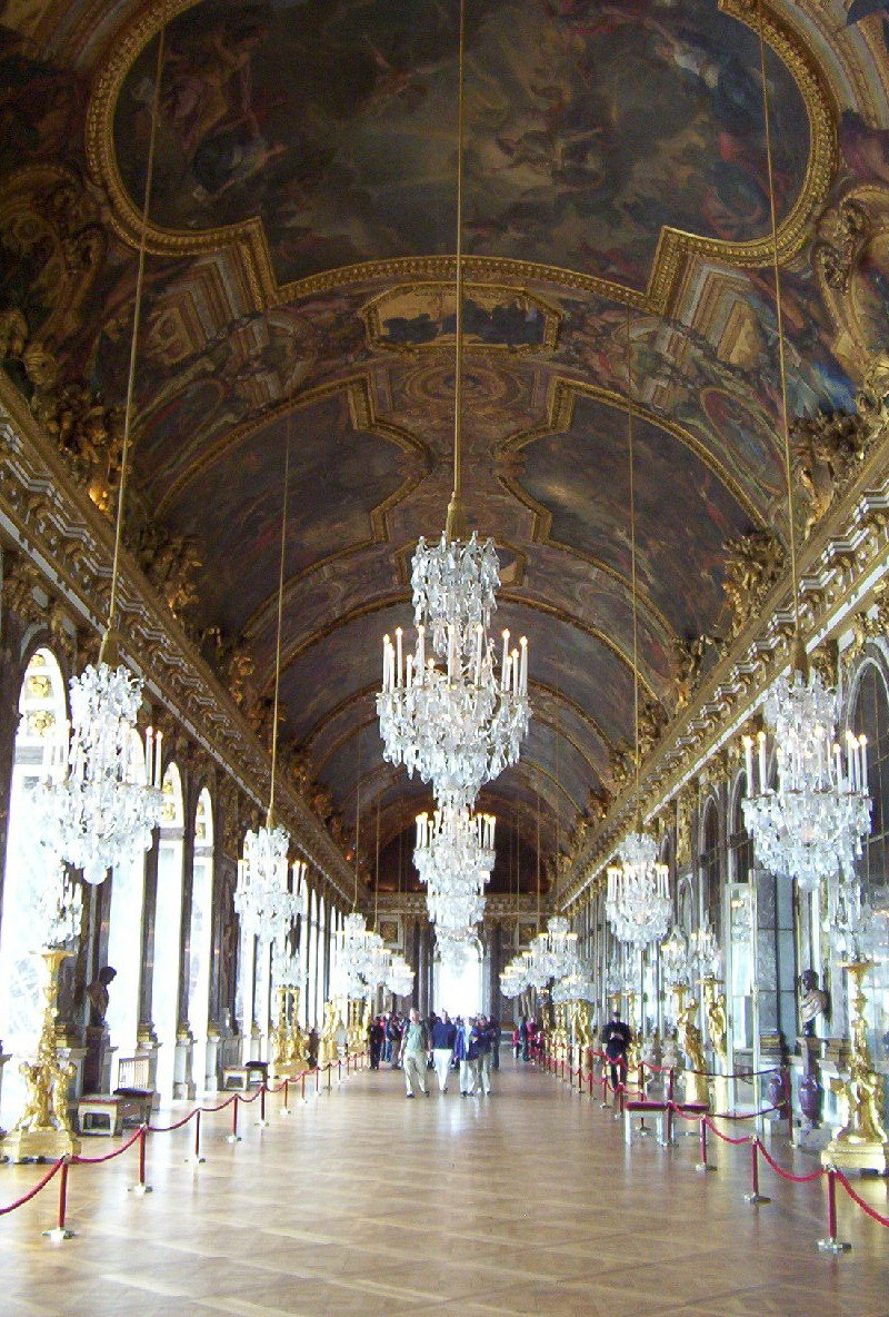 Touring the palace of versailles a monument to royal grandeur an image of the hall of mirrors in the palace of versailles in france aloadofball Gallery