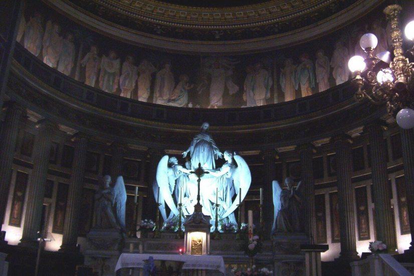 Interior of La Madeleine Church