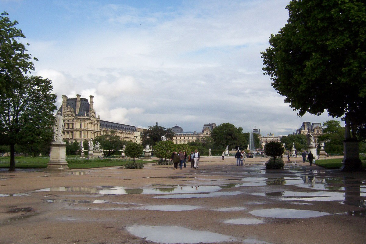 Our walk through a world of history in paris for Jardins tuileries paris france