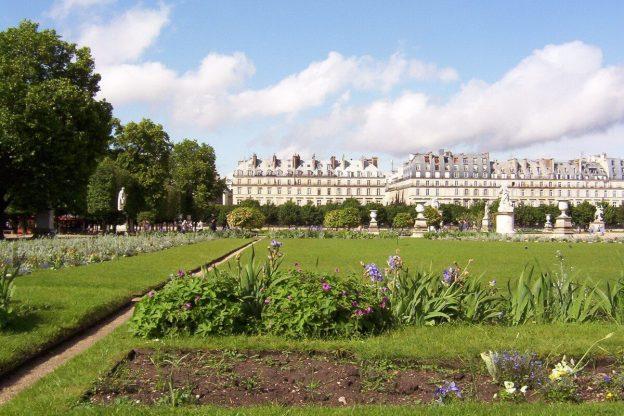 Louvre - The Tuileries gardens 3- Paris - France