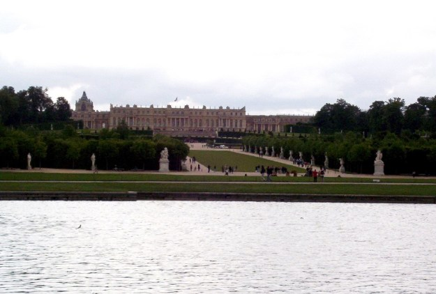 Palace of Versailles - from lake