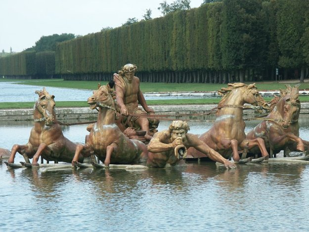 Apollo fountain at Versailles 3 - France