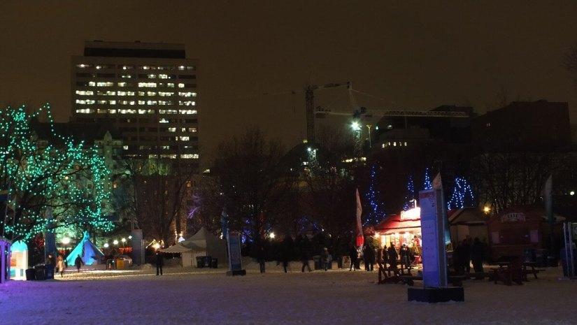 Confederation Park - Winterlude - Ottawa - Canada