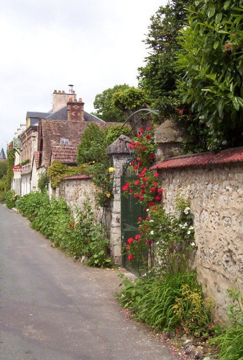 Street near Giverny - France