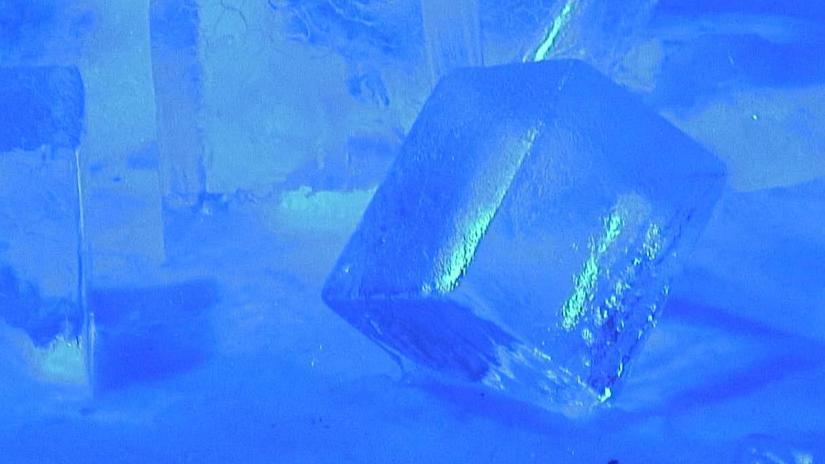 block of ice - Winterlude - Ottawa